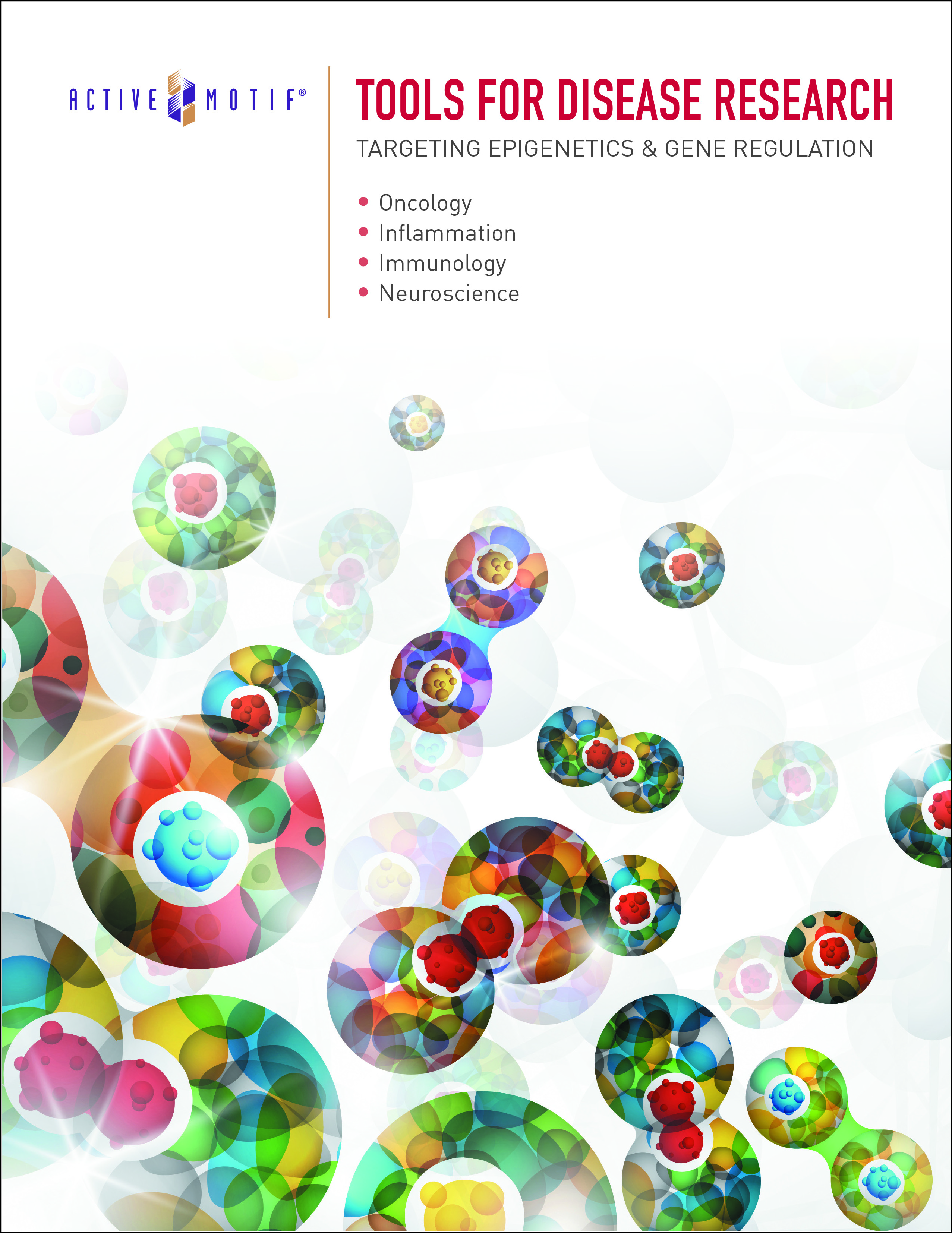 Active Motif's Tools for Disease Research brochure