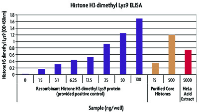 Histone H3 dimethyl Lys9 ELISA (H3K9).