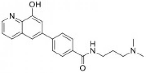 Chemical structure of ML-324.