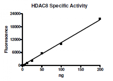 HDAC8 activity assay